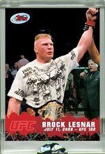 BROCK LESNAR UFC ETOPPS IN-HAND CHROME-LIKE SEALED MINT