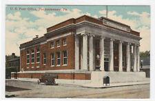 Post Office Punxsutawney Pennsylvania 1910c #2 postcard