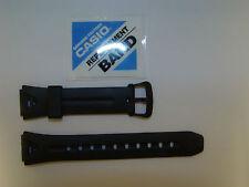 Cinturino Casio Originale Gomma Caucciù Nero Ansa 16 Mm. Modello LW-S200H