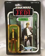 ROTJ 65 Back Han Solo Bespin outfit vintage Star Wars Kenner figure Return Jedi