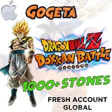 🌟 iOS - Dokkan Battle - Gogeta AGL 1000+ Dragon Stones - Fresh GLOBAL