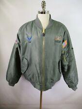 F2405 VTG Military Men's Cold Weather MA-1 Bomber Jacket