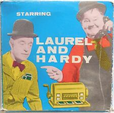 PELLICOLA SUPER 8 FILM LAUREL AND HARDY CHARLOT NEL PARCO
