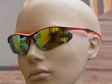 Sonnenbrille Herrenbrille Sportbrille Radbrille Brille orange 3120