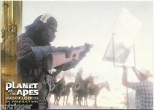 1999 Inkworks PLANET of the APES (87) Fun on the Set
