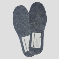 Adult Wool Felt Warm Insoles, Winter Heated Shoe -Natural Wool - Winter SIZE 5