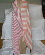 COOL RIVER ISLAND STRIPED STOLE WRAP SHAWL SARONG DAY EVENING FESTIVAL HOLIDAY