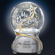 My Daughter You Are My Shining Star Illuminated Musical Glitter Globe Lights Up