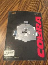Cobra Back Rest Insert for Round Sissy Bar Pad Motorcycle Seats Cross 02-5072