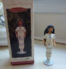 Hallmark Keepsake Ornament Dolls of the World Native American Barbie 1st 1996