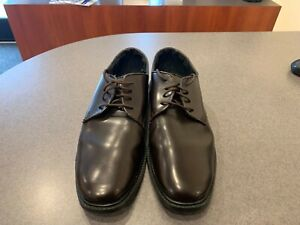 MEN'S BROWN DRESS SHOES - Matte finish oxford style - Most sizes available