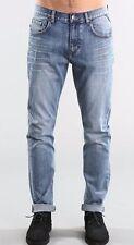 New Rusty Indi Slims  Men Slouch Rise Skinny leg Jean Atlantic Blue Size W34/L32