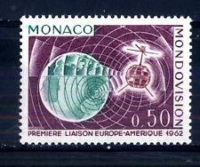 """MONACO - 1963 - Prima trasmissione televisiva con il """"Telestar"""""""