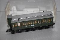 Fleischmann 5794 K 3-Achser Personenwagen 2.Klasse B3 DB Bremserhaus Spur H0 OVP
