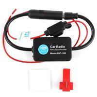 Cheyoule Para Universal 12 V Auto Car Radio Antena Fm Amplificador De Ampli T3C4