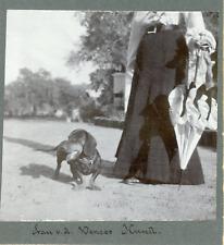 Inde, India, teckel, Radha Kund (ses environs)  Vintage silver print,  Tirage