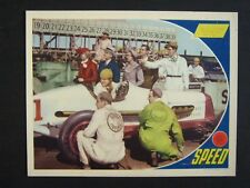 SPEED '36 JAMES STEWART WITH RACE CAR AT INDIANAPOLIS 500 LC