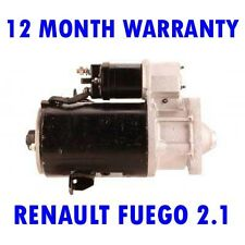 RENAULT FUEGO 2.1 COUPE 1982 1983 1984 1985 RMFD STARTER MOTOR