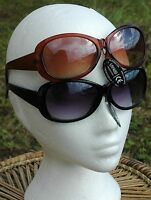 Flirt Sunglasses Funky Retro Trendy UV400 UK SELLER Choice Colours Black White