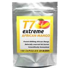 100 T7 EXTREME AFRICAN MANGO pure 6000mg, strong diet pills SLIMMING/WEIGHT LOSS