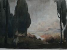 FIGURE IN A LANDSCAPE 2 BY GEORGE GRAINGER SMITH
