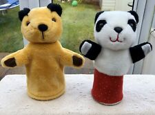 SOOTY & SOO (Sue) HAND PUPPETS, MATTHEW CORBETT, RETRO TV SHOW