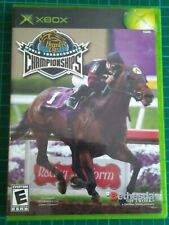BREEDER'S CUP WORLD THOROUGHBRED CHAMPIONSHIPS XBOX HORSE RACING GAME (TESTED)