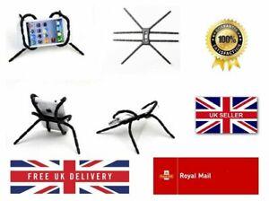 FLEXIBLE BREFFO SPIDERPODIUM CAR SPIDER PHONE HOLDER SATNAV GADGET MOUNT UK