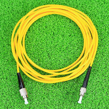 FC to ST fiber patch cord jumper cable, SM, simplex, 9/125, 3 Meters