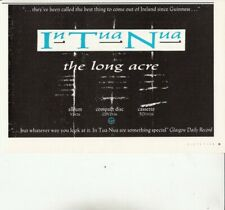 IN TUA NUA : The Long Acre - MAGAZINE ADVERT  1988