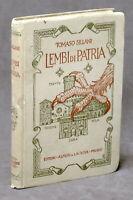 Viaggi Guide - Tomaso Sillani - Lembi di Patria - 1920 ca. Alfieri & Lacroix