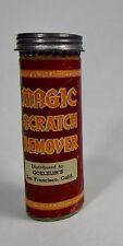 Vintage Magic Scratch Remover Tin Goelzlin's San Fransisco California
