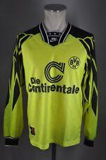 Borussia Dortmund Trikot Gr. M #11 90er Nike 1994-1995 langarm Jersey LS BVB