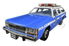 1988 FORD LTD CROWN VICTORIA WAGON POLICE CAR NYPD 1/18 DIECAST GREENLIGHT 19062