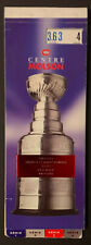 1996 Stanley Cup Playoff Tickets Molson Centre Montreal Canadiens Unused Booklet