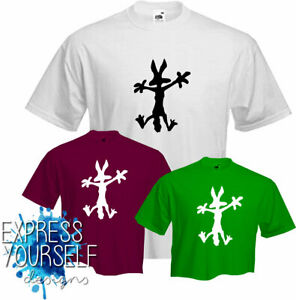 SPLAT COYOTE - T Shirt, Fun , dynamite roadrunner wylie