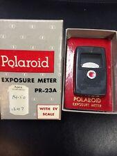 Vintage Polaroid Exposure Meter PR-23A In Box EV Scale