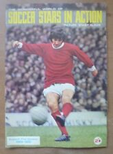 Soccer Stars 1969-70, Picture Stamp Album - *100% Completed*.