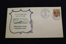 NAVAL COVER 1940 SHIP CANCEL 1ST DAY POSTAL SERVICE USS P.C. 451 (724)