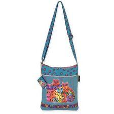 Laurel Burch Feline Clan Crossbody Messenger Bag