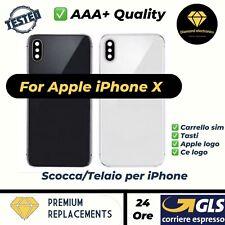 Scocca Telaio Vetro Posteriore Copertura Back Glass Cover Housing Apple iPhone X