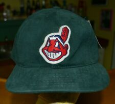 Cleveland Indians Retro Chief Wahoo American Needle 7 5/8 Unstructued Green New