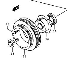 Genuine Suzuki SWIFT 1994-2001 Crankshaft Crank Pulley Dual Rib Belt 12611-50G00
