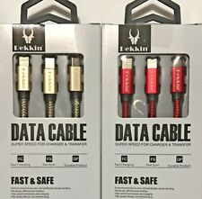 OEM 3 in 1 Multi USB For iPHONE SAMSUNG HUAWEI IOS/Mirco USB/TYPE-C Cable Cord