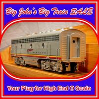 Sunset Models 3rd Rail Santa Fe War Bonnet F7B #338B 3R TMCC O Gauge Scale Third