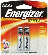 Energizer MAX, AAA Batteries, 2 Pack