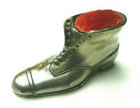 ANTIQUE  VICTORIAN  SHOE / BOOT  DESIGN , Sewing Pin Cushion , SEWING TOOL