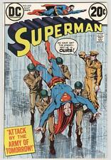 Superman #265 July 1973 NM- Army of Tomorrow story