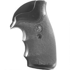Pachmayr Decelerator Grip S&W K, L Frame Round Butt Revolver Finger Black 05138