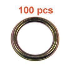 (100) Marli 14 Mm Oil Drain Plug Gasket Steel Foldover Fits Mitsubishi Hyundai